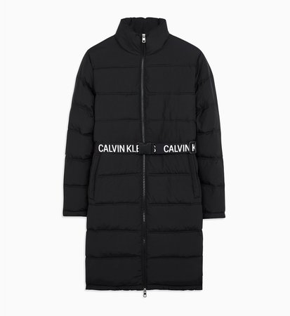 Belted Puffer Jacket CALVIN KLEIN® | J20J212531BAE