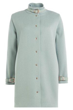 Coat with Leather Deatils Gr. DE 38