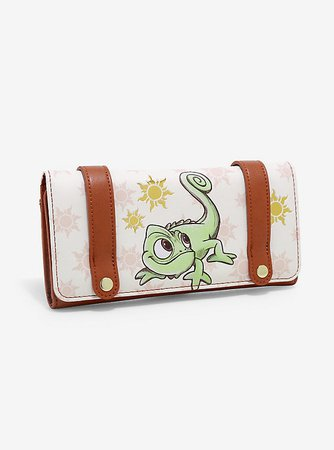 Loungefly Disney Tangled Pascal Sun Flap Wallet