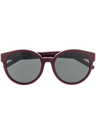 Saint Laurent Eyewear Round Frames Sunglasses - Farfetch