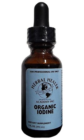 Organic Iodine 1oz - Herbal Healer Academy, Inc.