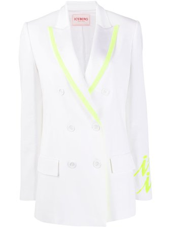 Iceberg Double Breasted Suit Jacket - Farfetch