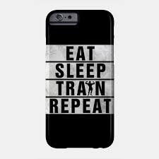 phone case eat sleep workout repeat