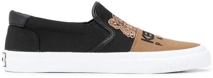 Tiger slip-on sneakers