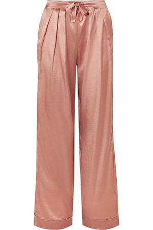 I.D. Sarrieri | Silk-satin pajama pants | NET-A-PORTER.COM