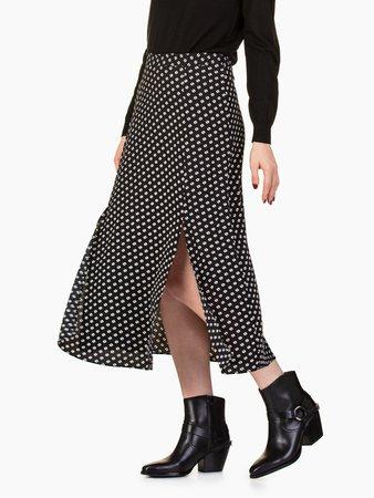 Michael Kors Slit Front Skirt