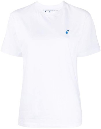 Off White embroidered logo short-sleeve T-shirt