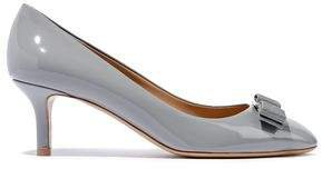 Erice Bow-detailed Patent-leather Pumps