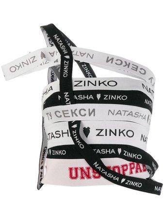 Natasha Zinko shredded top - Black