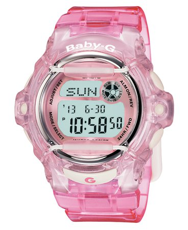Institute for Y2K Aesthetics — Casio Baby-G - Crystal Pink (1999)