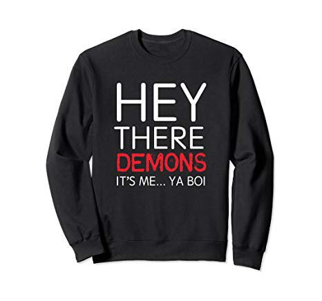 Amazon.com: BuzzFeed Unsolved It's me... Ya Boi Sweatshirt: Clothing