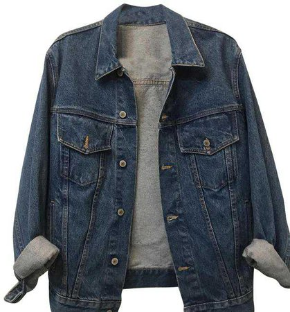 Brandy Melville Never Full Denim Jacket Size OS (one size) - Tradesy
