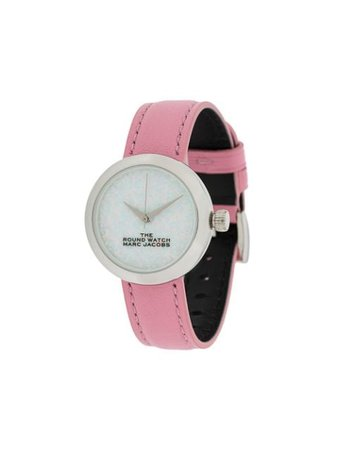Marc Jacobs Watches The Round Watch MJ0120179286 Pink | Farfetch