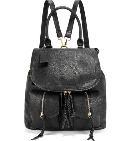 Sole Society Emery Faux Leather Backpack | Nordstrom