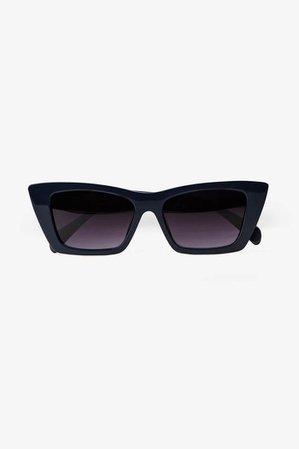 ANINE BING Levi Sunglasses - Navy