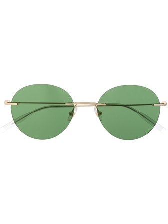 Montblanc Round-Frame Sunglasses