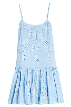 Cotton Dress with Cut-Out Detail Gr. 1