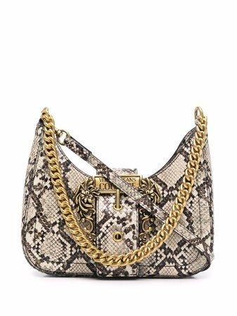Versace Jeans Couture logo-buckle crossbody bag - FARFETCH