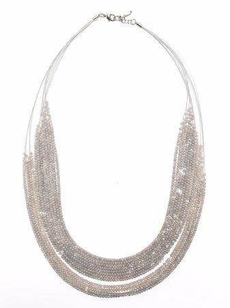 Fabiana Filippi beaded layered necklace - FARFETCH