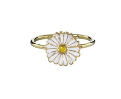 Alison Lou - Enamel Daisy Ring in Rings Stones at TWISTonline