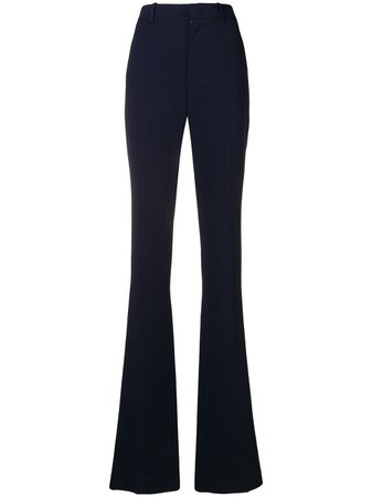 Gucci high waisted flared trousers - FARFETCH