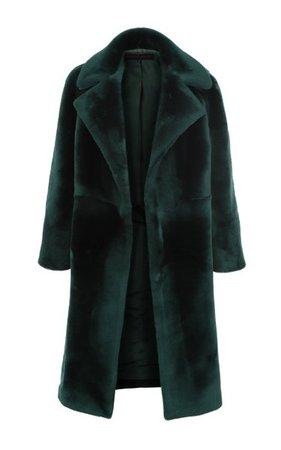 Open-Front Shearling Coat By Martin Grant | Moda Operandi