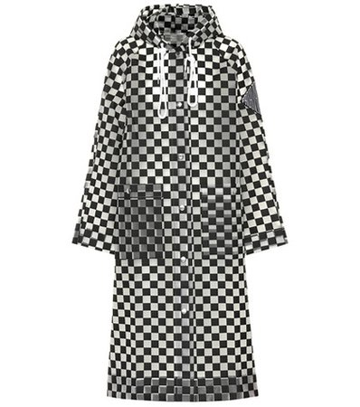 PSWL checked raincoat