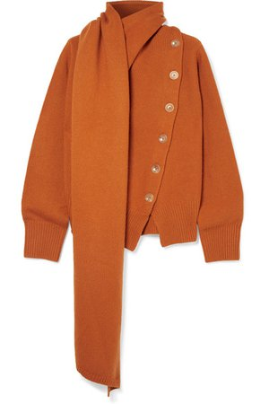Joseph | Draped wool and cashmere-blend sweater | NET-A-PORTER.COM