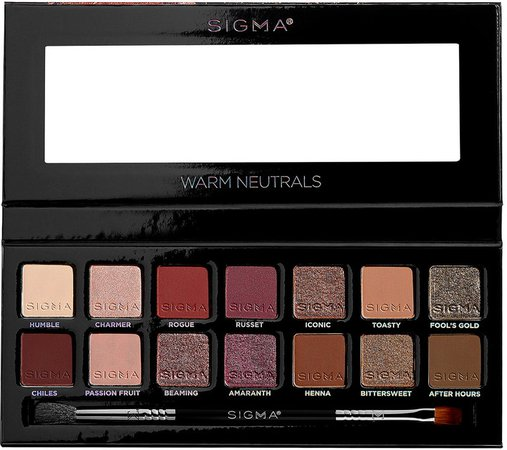 Warm Neutrals Eyeshadow Palette
