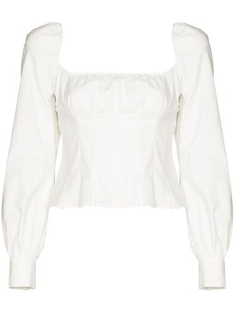 Reformation Blouse Helena - Farfetch