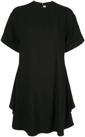 circle folded T-shirt dress