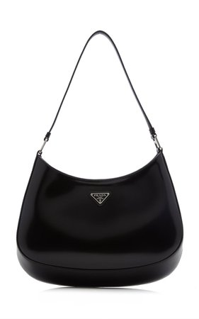 Cleo Small Leather Shoulder Bag By Prada | Moda Operandi