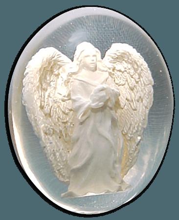 The Space Fairy — yewberryeater: angel worry stones