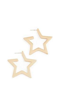 Madewell Серьги-кольца Star | SHOPBOP
