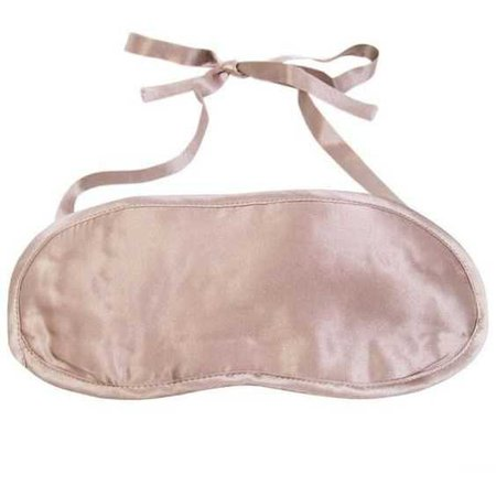 pink satin sleep mask
