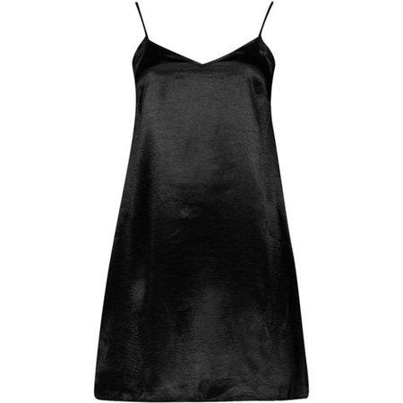 Boohoo Night Emmaline Satin Slip Dress