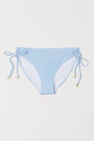 Bikini Bottoms - Light blue/white striped - Ladies | H&M US
