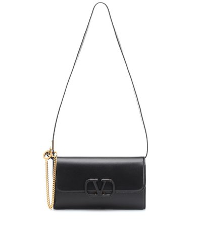 Valentino - Valentino Garavani VSLING Small leather shoulder bag | Mytheresa