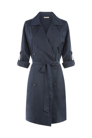 Double Breasted Trench Coat – SKIES ARE BLUE