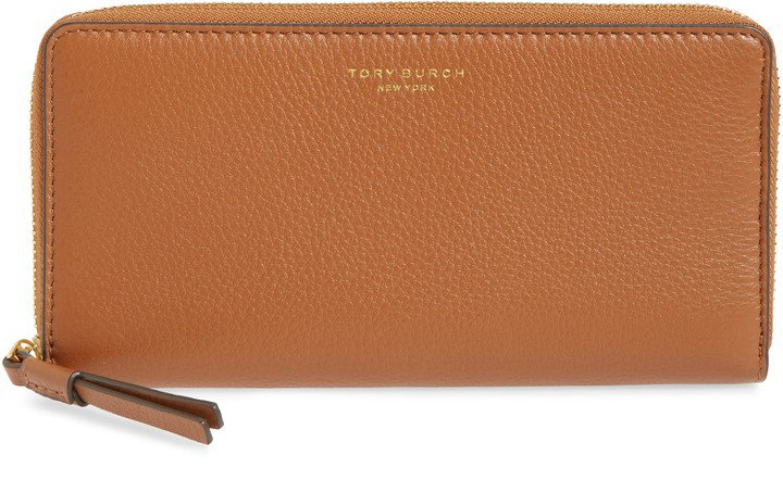 Perry Leather Continental Zip Wallet
