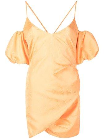 Patrizia Pepe abstract-print plissé dress - FARFETCH