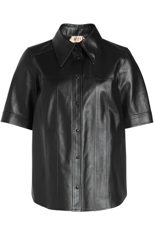 Leather Shirt Gr. IT 40