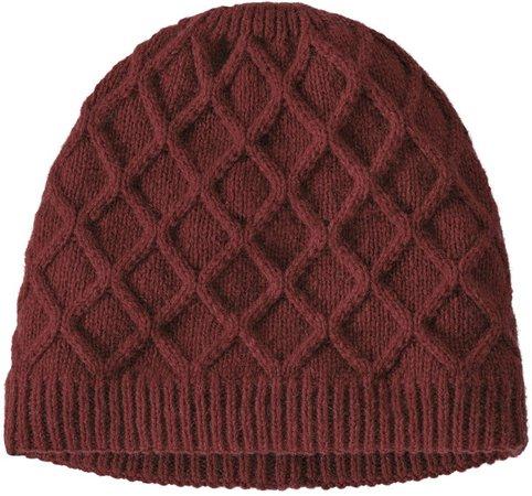 Honeycomb Knit Beanie