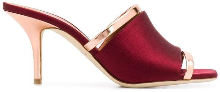 mirrored sandals