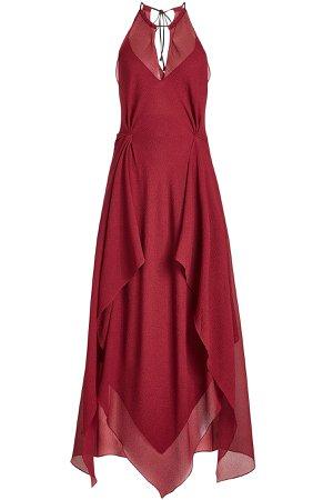 Risby Floor Length Silk Gown Gr. UK 8
