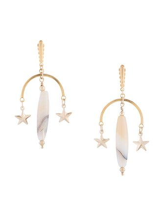 Petite Grand star drop earrings - FARFETCH