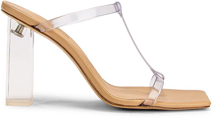 Piper Heel in Clear | FWRD