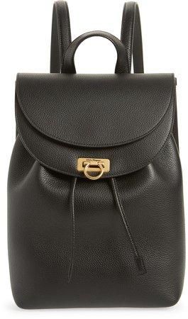Gancio Leather Backpack