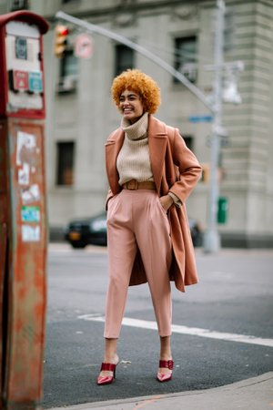 The Street Style Crowd Wore Brown and Beige on Day 1 of New York Fashion Week - Fashionista