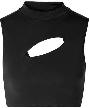 All Sisters - Persei Cutout Bikini Top - Black